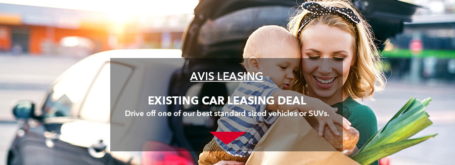 AVIS LEASING - Existing 2.0L car leasing deal. Drive off one of our best standard sized vehicles or SUVs.