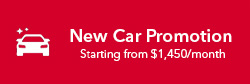 New Car Promotion